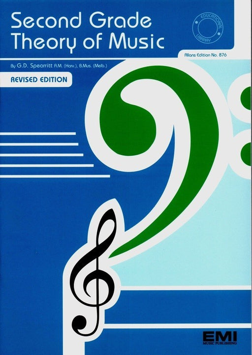 Second Grade Theory Of Music by Gordon Spearritt
