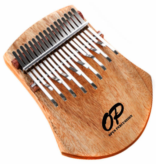 Opus Percussion 17-Key Camphor Wood Kalimba Plate in Natural