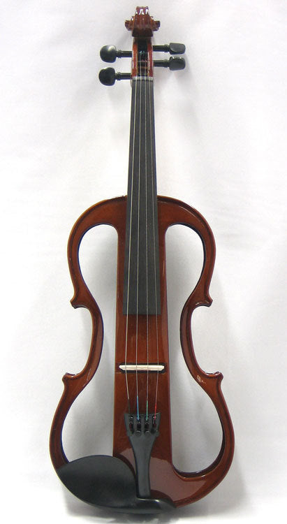 Carlo Giordano 4/4 Size Electric Violin Outfit EV302 Natural