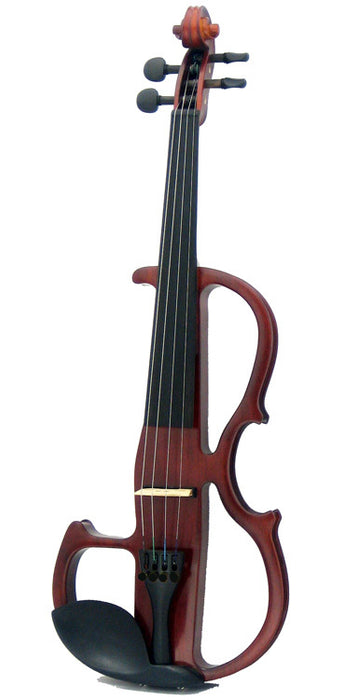 Carlo Giordano 4/4 Size Electric Violin Outfit EV305 Natural