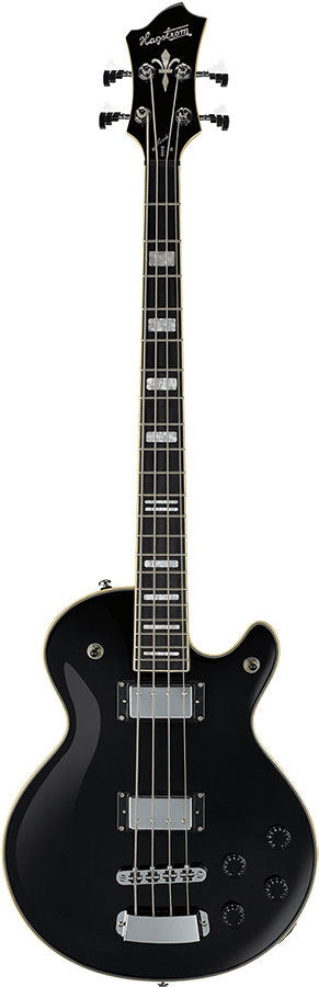 Hagstrom Swede Bass Guitar in Black Gloss