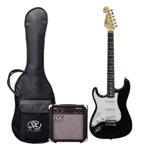 SX 3/4 Size Electric Guitar and Amp Package Left Handed