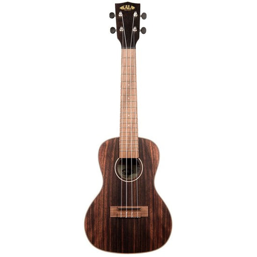 Kala Travel Concert Ukulele Striped Ebony