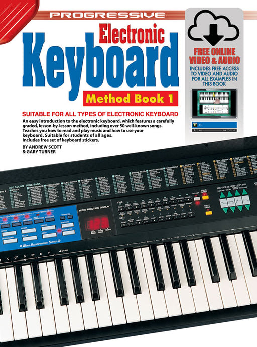 Progressive Keyboard Book 1 w/ Online Media