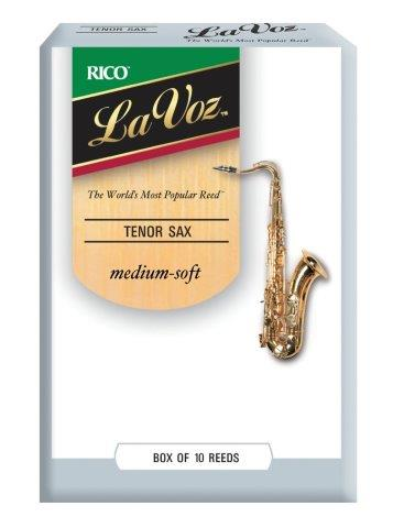 La Voz Tenor Saxophone Reeds Box of 10