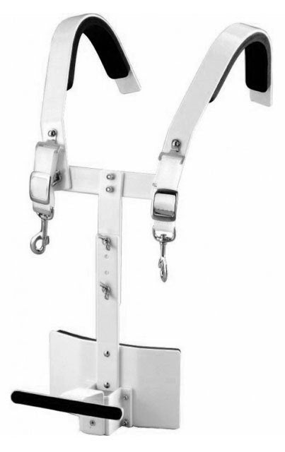 Peace Aluminium Marching Bass Drum Carrier
