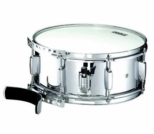 "Peace Metal Marching Snare Drum with Leg Rest (14 x 5.5"")"