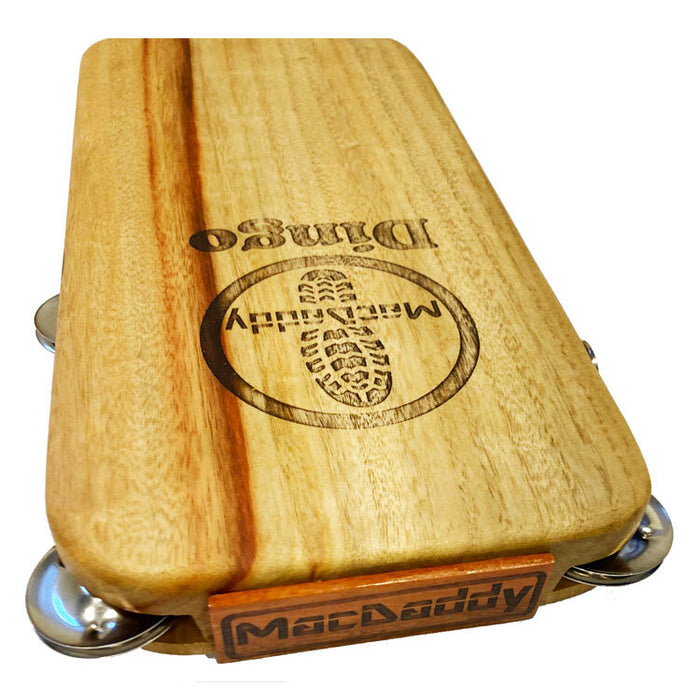 "Macdaddy MDD1 ""Dingo"" Stomp Box in Natural Finish"
