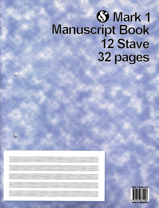 Mark 1 Manuscript Book 12 Stave 32 Pages