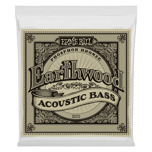 Ernie Ball Earthwood Phosphor Bronze Acoustic Bass Strings - 45-95