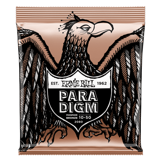 Ernie Ball Paradigm Extra Light Phosphor Bronze Acoustic Guitar Strings - 10-50