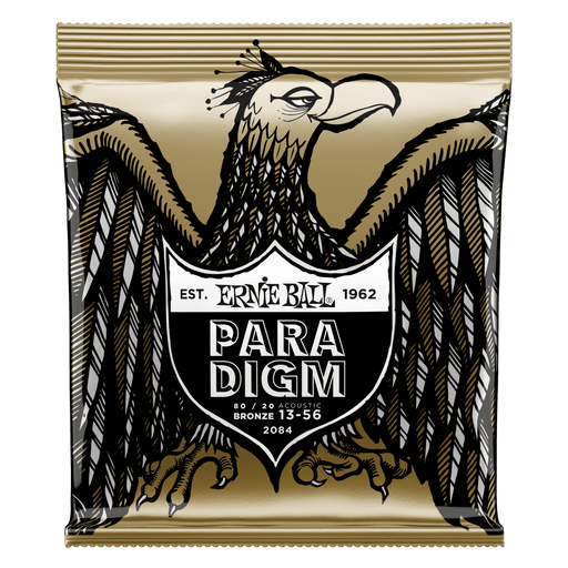 Ernie Ball Paradigm Medium 80/20 Bronze Acoustic Guitar Strings - 13-56
