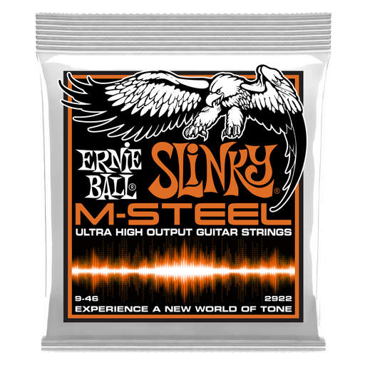 Ernie Ball Hybrid Slinky M-Steel Electric Guitar Strings - 9-46