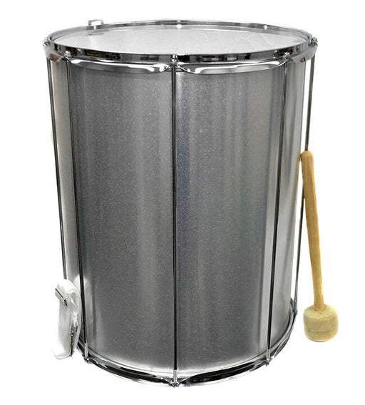 "Percussion Plus 16"" Aluminium Surdo Drum with Beater"
