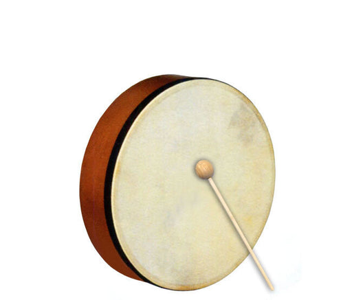 Percussion Plus Handheld Frame Drum with Wooden Beater