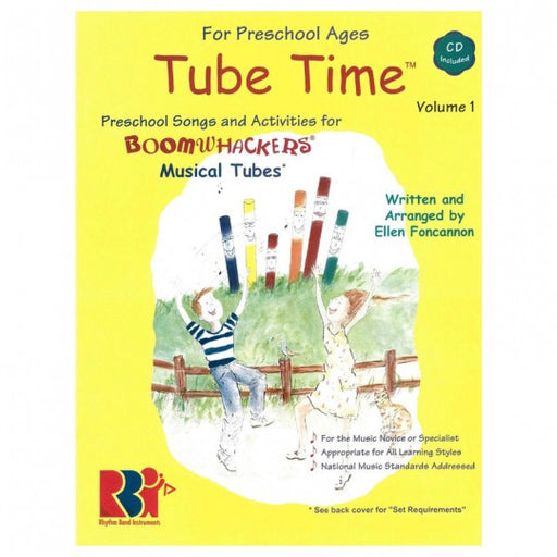 "Boomwhackers ""Tube Time"" Book/CD"