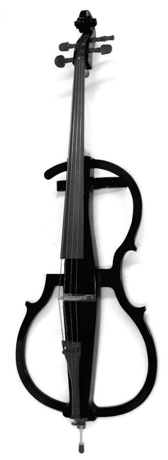 Carlo Giordano 4/4 Size Electric Cello Outfit EV301 Black