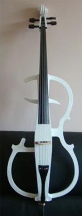 Carlo Giordano 4/4 Size Electric Cello Outfit EV301 White