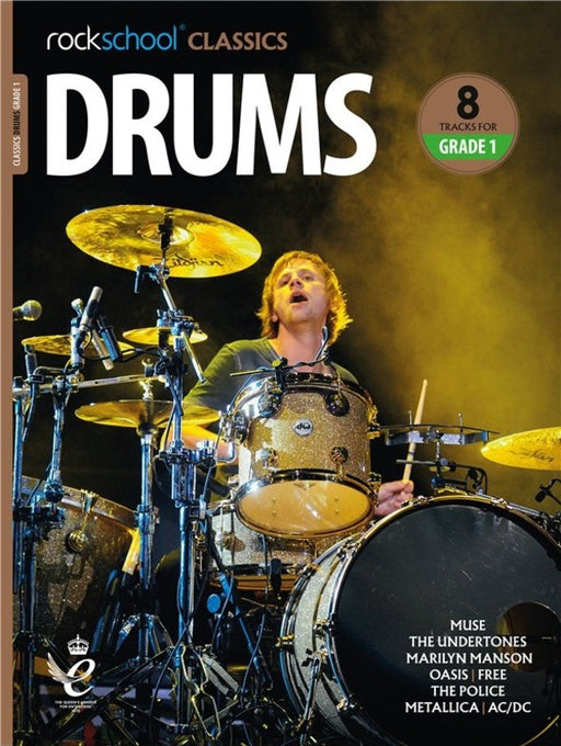 Rockschool Classic Drums Grade 1 to Grade 8