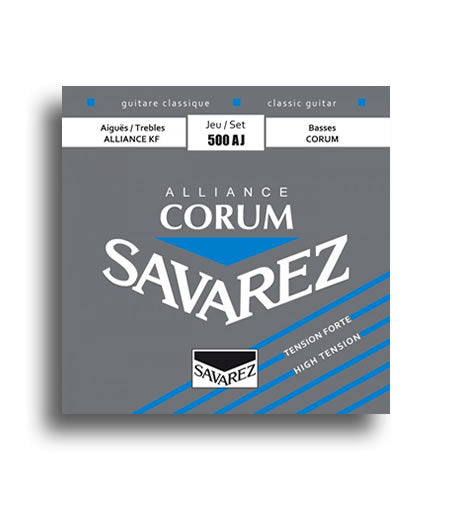 Savarez Alliance Corum High Tension Classical Guitar String Set SAV500AJ