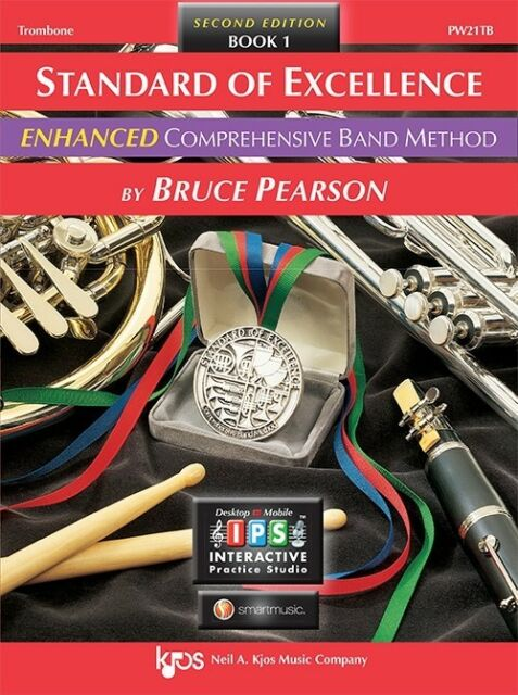 Standard of Excellence Trombone Book 1 with Online Interaction