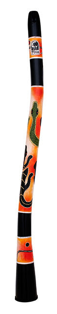 "Toca Freestyle Curved Didgeridoo 50"" Sahara Gecko Design"