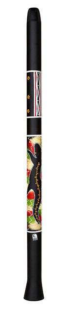 "Toca Duro Didgeridoo 48"" Black with Artwork"