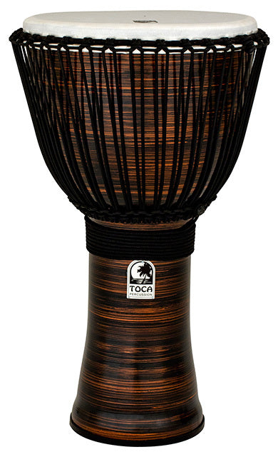Toca Freestyle 2 Series Djembe 14 Inch Spun Copper with Bag