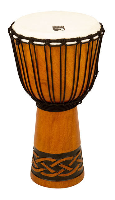 Toca Origins Series Wooden Djembe 10 Inch Celtic Knot