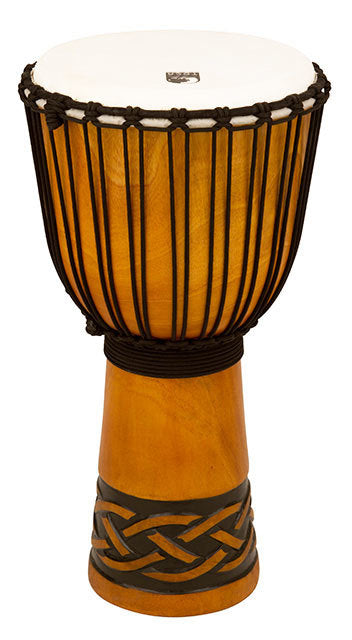 Toca Origins Series Wooden Djembe 12 Inch Celtic Knot