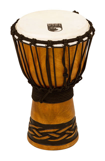 Toca Origins Series Wooden Djembe 07 Inch Celtic Knot