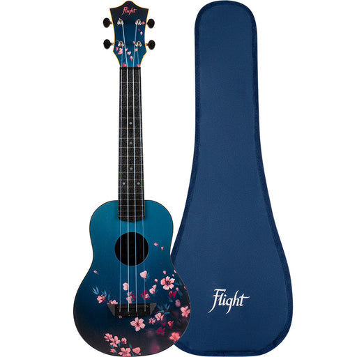Flight Concert Ukulele Sakura Travel
