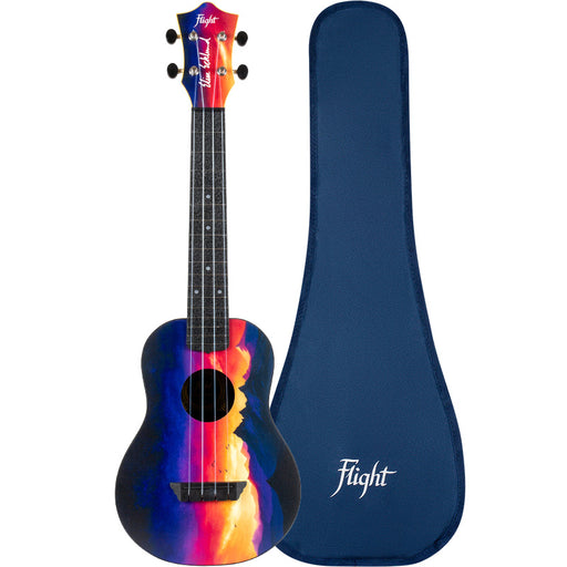 Flight Concert Ukulele Sunset Travel