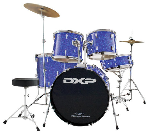 DXP Pioneer Series Drum Kit TX04PMBL with Stool