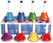 8 Bells Tuned Hand Bell Press Desk Set
