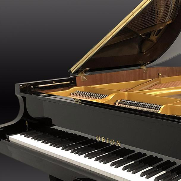 ORION OGP183 Grand Piano Ebony Polish