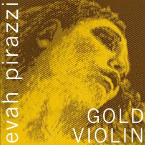 Evah Pirazzi Gold 4/4 Violin String Set