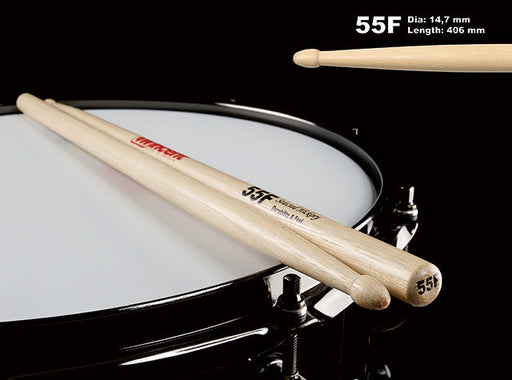 Wincent USA Hickory Standard Wood Tip Drum Sticks (9 Sizes)