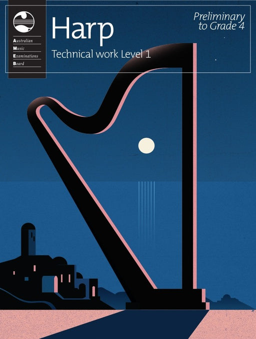 AMEB Harp Technical Workbook Level 1