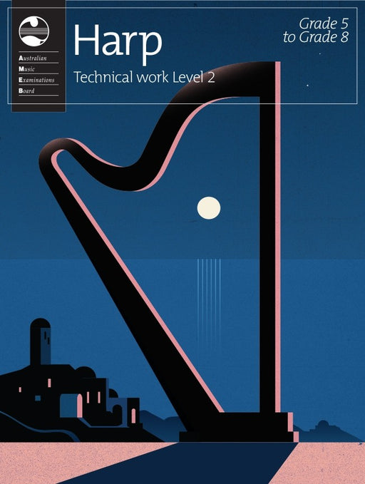AMEB Harp Technical Workbook Level 2
