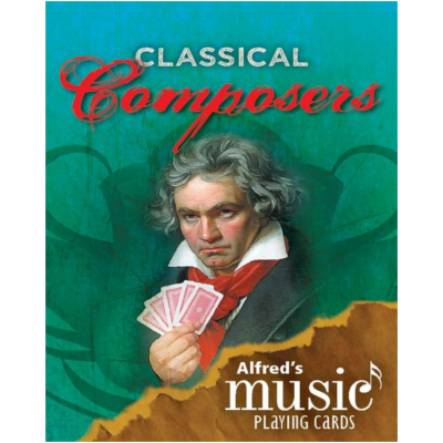 Alfred's Music Playing Cards: Classical Composers 1 Pack