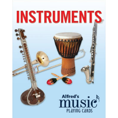 Alfred's Music Playing Cards: Instruments 1 Pack