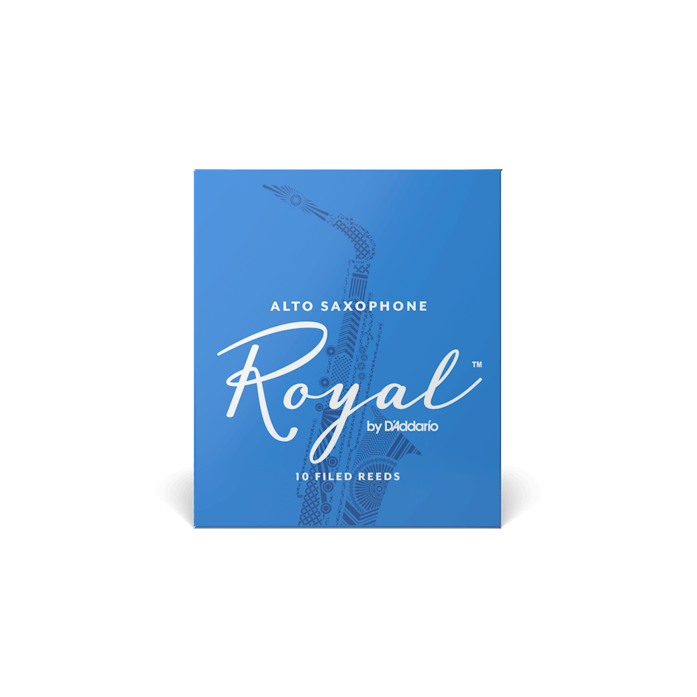 Rico Royal Alto Saxophone Reeds Box of 10