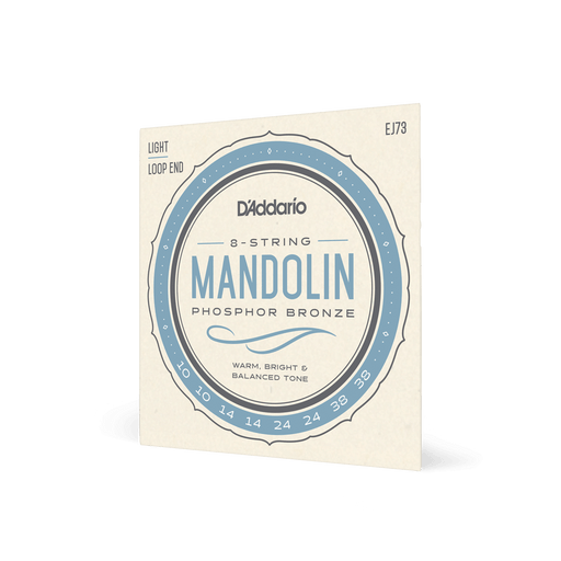 D'Addario Mandolin Strings Phosphor Bronze Light Gauge