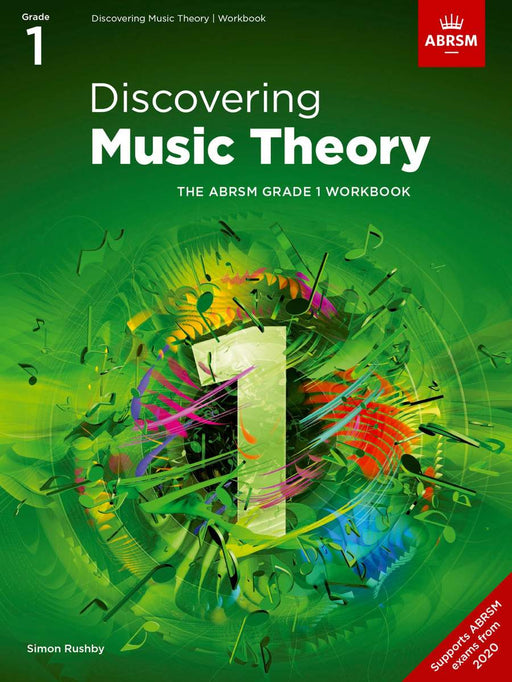 ABRSM New 2020 Discovering Music Theory Workbook
