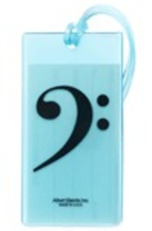 Music ID Tag Soft Rubber - Bass Clef