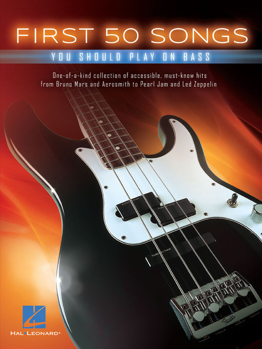 FIRST 50 SONGS PLAY ON BASS GUITAR