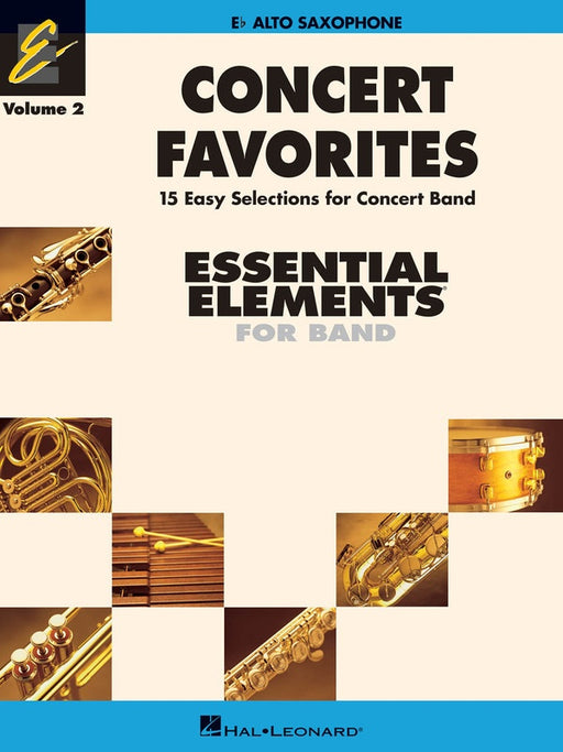 Concert Favorites Vol. 2 - Alto Sax