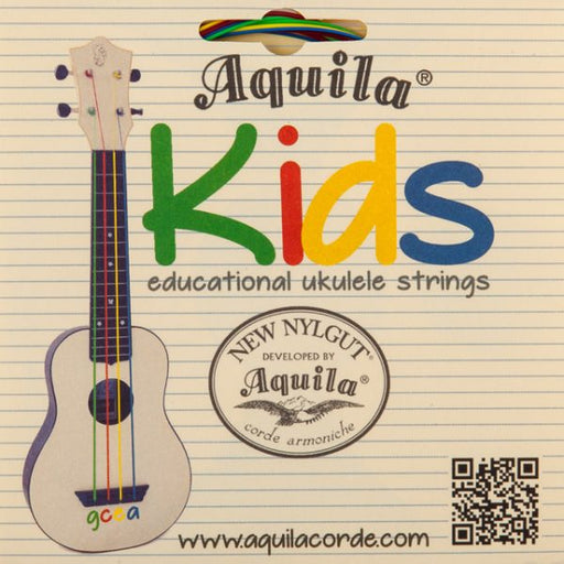 Aquila KIDS Educational Nylgut Ukulele String Set