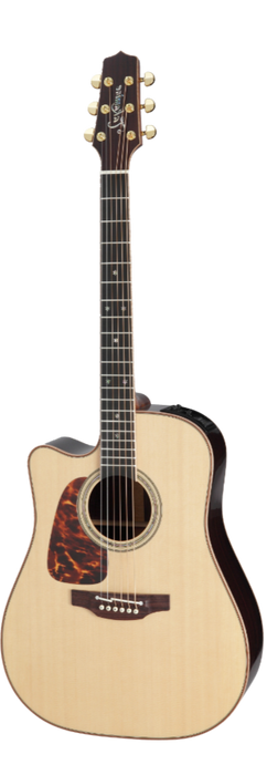 Takamine Acoustic Electric Guitar PRO 7 Series Dreadnought Left Hand